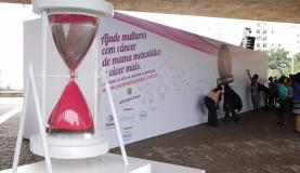 Campanha chama a atenção para câncer de mama metastásico