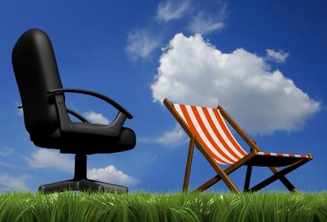 Posso dividir as férias para ter mais pausas ao longo do ano?